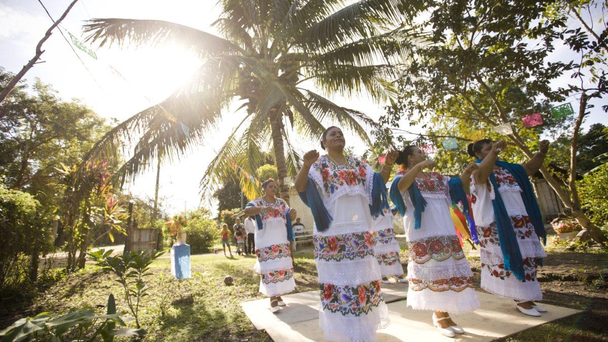 Orange Walk Palmar Dancers